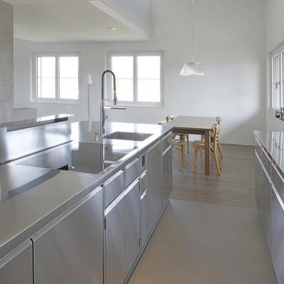 Design Edelstahl Indoor Küche