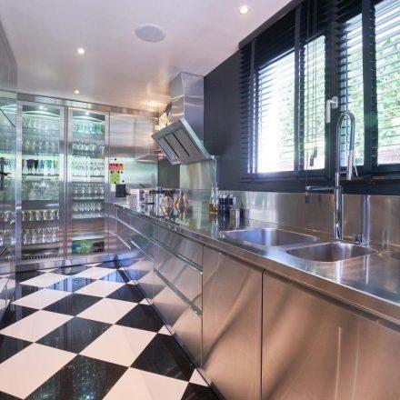 Edelstahlküche Indoor