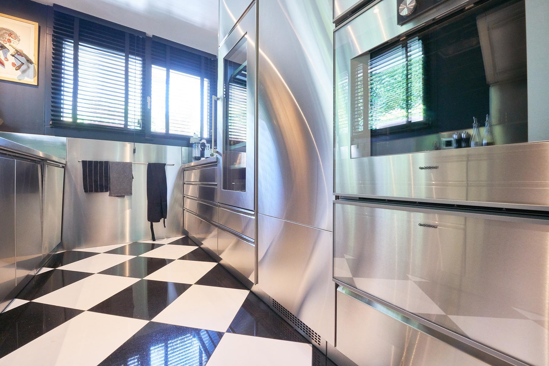 Massgeschneiderte Indoor-Edelstahlküchen für Sie